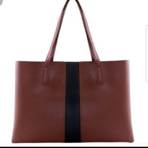 """Vince Camuto Luck Tote in """"Red Desert"""""""